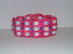 Beaded - Rainbow Loom Bracelet