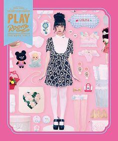 zine_web_01 (480×576) Japan Fashion, Kawaii Fashion, Pop Design, Print Design, Sims, Ads Creative, Print Layout, Fashion Catalogue, Retro Futurism