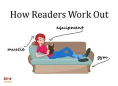 How readers work out. This is my kind of exercise!