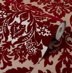 37 ideas red damask wallpaper bedroom for 2019 Gold Wallpaper Living Room, Gold Damask Wallpaper, Velvet Wallpaper, Bedroom Wallpaper, Wallpaper Iphone Liebe, Iphone Wallpaper Fall, Spring Wallpaper, Flock Wallpaper, Red Wallpaper