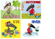 1424 Best Petit loup images in 2020 Too Cool For School, School Fun, Pre School, Petite Section, Autism Activities, Craft Activities For Kids, School Organisation, Cycle 1, French Classroom