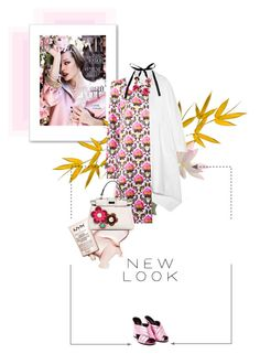 """Spring vibes"" by bittersweetcolours ❤ liked on Polyvore featuring Jil Sander, Mary Katrantzou, Fendi, Gucci, Marni, women's clothing, women's fashion, women, female and woman"