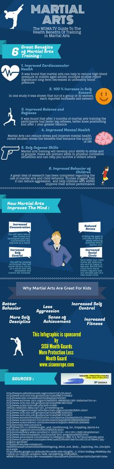 The Health Benefits of Training Martial Arts: Infographic - World of Martial Arts TV