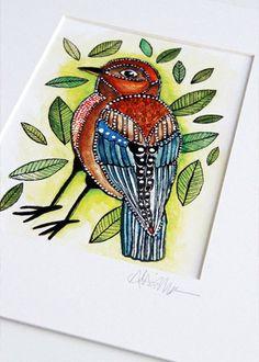 Little Bird By Alisa Burke