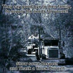 Thank a truck driver!