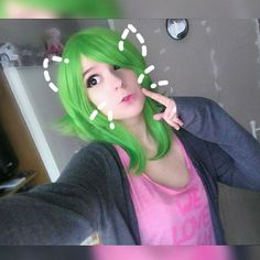 Lol.. Today I'm a cat..?! Idk when took I last time pictures  in my Gumi wig..:P PLS IF YOU FOLLOW ME LIKE THIS PHOTO!!<3  #gumimegpoid #girl #gumicosplay #vocaloidcosplay #vocaloid #makeup #eyelashes #livingdoll #dollmakeup #doll #cosplayer#circlelenses #anime #animemakeup #animecosplay #cosplay #cosplayer#animegirl #vocaloidgirl #Megpoidgumi #Megpoid #gumimegpoidcosplay #manga #cute #kawaii