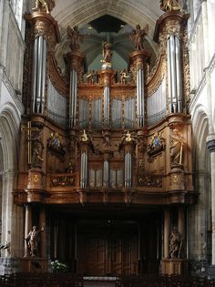 st. omer cathedral organ