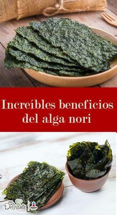 beneficios del alga nori | CocinaDelirante