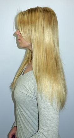 After HotHeads Hair Extensions by Rhonda at ROCA Salon & Spa in Kansas City.