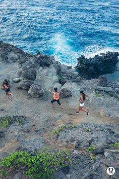 Running with a group helps to keep you motivated, often with a side order of healthy competition. Call someone up.