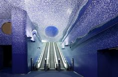 Schönste U-Bahn Station der Welt – Kunst & Design | Fashion Label & Lifestyle Magazin
