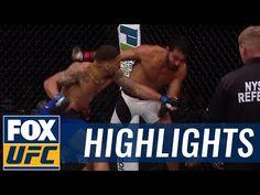 MMA Eryk Anders wins UFC debut via brutal KO | UFC FIGHT NIGHT HIGHLIGHTS