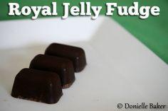 Royal Jelly Benefits and Fudge Recipe