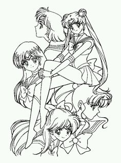 sailor jupiter coloring pages  ... Moon, Sailor Mars, ...