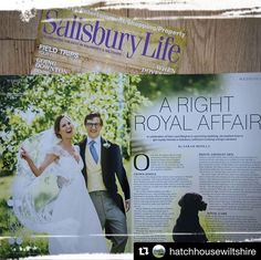 Lovely to be featured in Salisbury life magazine with the gorgeous wedding of Rebecca and Ben @hatchhousewiltshire (one of my fave venues)