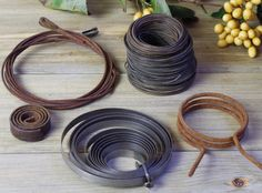 Metal Wire, Starter Spring, Metal Wire Springs, Metal Altered Art Supplies, Metal Craft Supplies, Spool of Wire, Metal Pieces for Art #7-11 by DogFaceMetal on Etsy