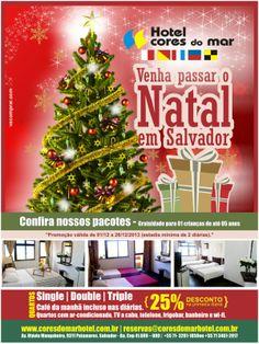 Projeto Banner Mailer - Hotel Cores do Mar - Salvador / BA