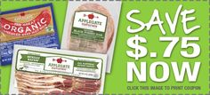 New Organic Coupon: $0.75 off Applegate Naturals Products