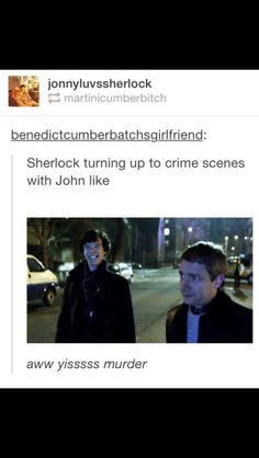 So true! We can't stop laughing at these funny Sherlock memes based on the book and TV show. Sherlock Fandom, Sherlock John, Sherlock Holmes Bbc, Funny Sherlock, Jim Moriarty, Sherlock Quotes, Sherlock Tumblr, Watson Sherlock, Johnlock Tumblr