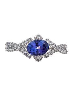 Tanzanite and Diamond Ring - Jewelry - FJR10341 | The RealReal youravon.com/rhendersom