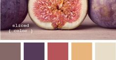 Liked on Pinterest: sliced color projects