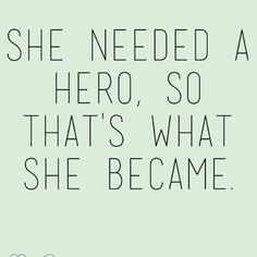 Rise, She-hero #imandaily