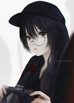 Marvelous Learn To Draw Manga Ideas. Exquisite Learn To Draw Manga Ideas. Kawaii Anime Girl, Cool Anime Girl, Beautiful Anime Girl, Anime Art Girl, Anime Girls, Dark Anime, Anime Black Hair, Anime Angel, Manga Girl