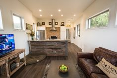The Orchard: a 750 sq ft park model tiny home