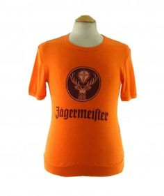 "70s Jagermeister T shirt #70sshirts #vintagefashion #vintage #retro #vintageclothing #70s #1970s #vintagetshirts <link rel=""canonical"" href=""http://www.blue17.co.uk/>"