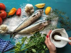 Makrela z cytryną