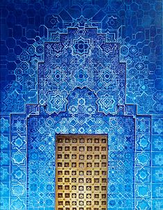 Moroccan blue by Zach Wong hell yeah this is gorgeous...<3