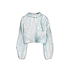 Good objects - HM Knit Sweater @hm #hm #knit #sweater #winteriscoming #fashionillustration #watercolour #art #goodobjects