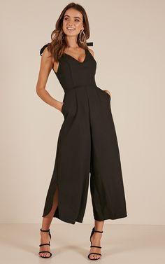 3636bd721e Fancy That jumpsuit in black Ladies Jumpsuit