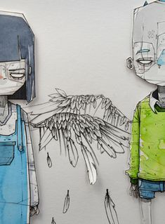 Disappointed by Mlle Terite, via Behance