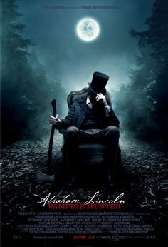 Book Chick City | FRIDAY FILM REVIEW: Abraham Lincoln, Vampire Hunter (2012) (click for review)