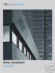 2G Books Arne Jacobsen Public Buildings Architecture Design Hardcover 1st Editon