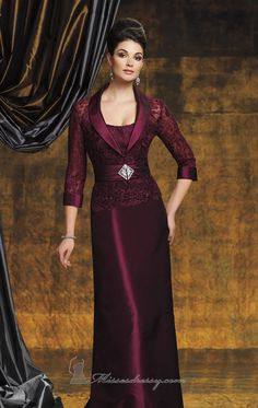 Shop 2012 Collection Burgundy Sheath Column Bateau Taffeta Lace affordable, new mother dresses & gowns all styles on sale for any occasions. Mother Of The Bride Gown, Mother Of Groom Dresses, Bride Groom Dress, Mothers Dresses, Mob Dresses, Cheap Prom Dresses, Modest Dresses, Fashion Dresses, Bride Dresses
