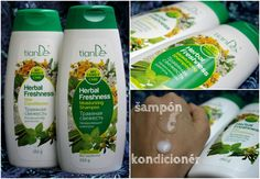 tianDe - hydratačný šampón a kondicionér - KAMzaKRÁSOU.sk
