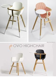 On Hello Jack Blog - Ovo high chair