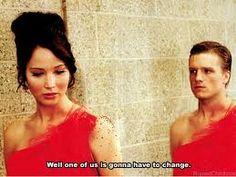 Peeta and Katniss - The Hunger Games humor Hunger Games Memes, The Hunger Games, Hunger Games Fandom, Hunger Games Catching Fire, Hunger Games Trilogy, Divergent Trilogy, Narnia, St Just, Jenifer Lawrence