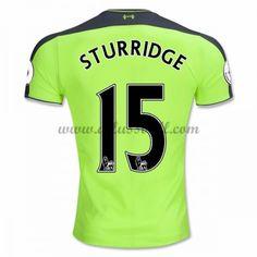 Neues Liverpool 2016-17 Fussball Trikot Sturridge 15 Kurzarm Dritte trikotsatz Shop
