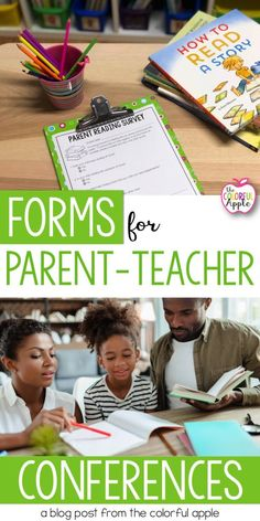 Reading information can be tricky for parents to understand! Use the FREE parent conference forms to help families understand their child's reading interests. Parents As Teachers, New Teachers, Elementary Teacher, Elementary Schools, Parent Teacher Conference Forms, Parent Teacher Conferences, Reading Conference, Teacher Freebies, Teacher Blogs
