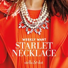 The versatile Starlet necklace can be worn 4 different ways, each one more gorgeous than the next.  How will you shine?  #pearls #pearlsarealwaysappropriate #versatile #gift  www.stelladot.com/jenjenny