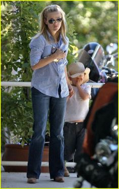 Reese Witherspoon. Love her when she is wearing the sunglasses.