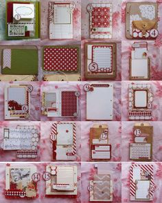 Project by Anita Scroggins  December Daily 2013 - Santa's List from Teresa Collins