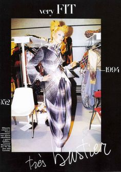 ALFA CASTALDI  Vivienne Westwood backstage fall/winter 1994/95, Vogue Italia, October 1994