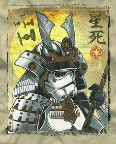 geekt:    Samurai Stormtrooper.