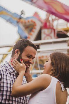 Pré-Casamento - Parque de Diversões: