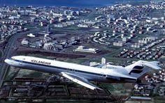 Vintage Icelandair B727