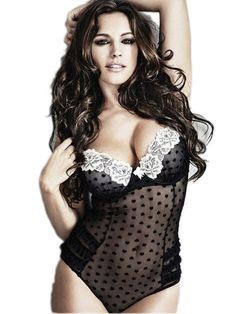This sultry teddy from imbues your lingerie collection with undeniable luxury and glamour.